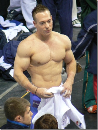 gymnast muscles