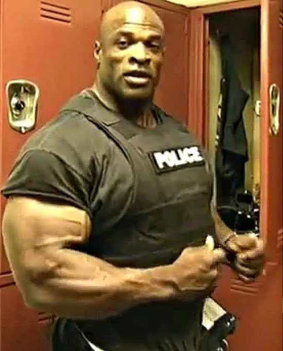 ronnie coleman police