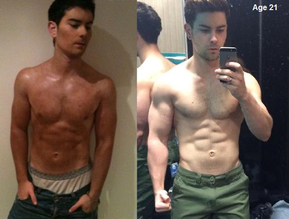 natural bodybuilder transformation