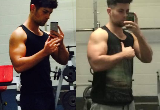 muscle memory before and after