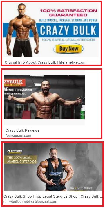 crazy bulk ads