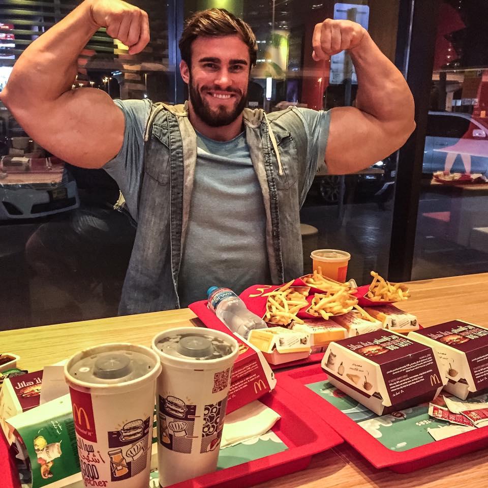 bodybuilder mcdonalds