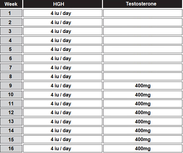 hgh testosterone cycle