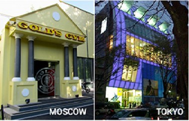 gold's gym moscow tokyo