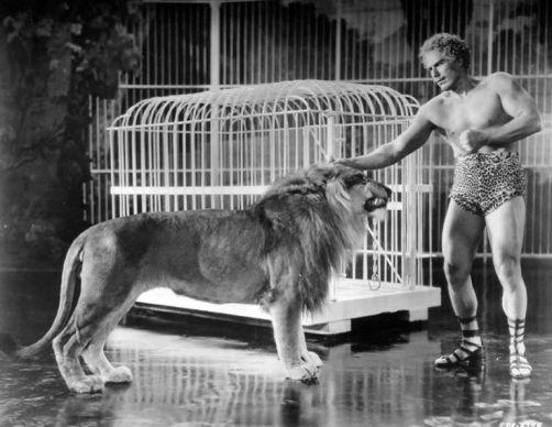 Sandow the Lion Tamer