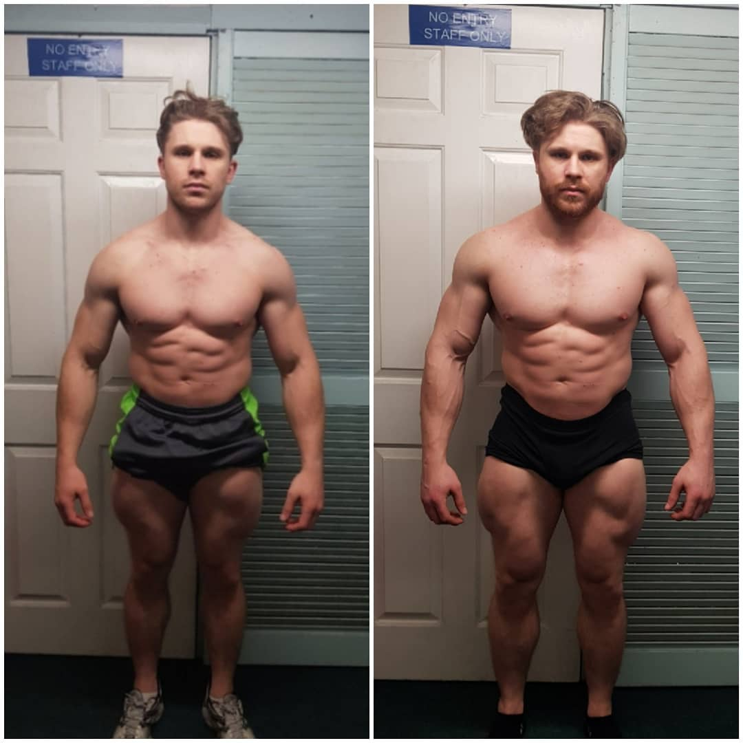 rad 140 before and after
